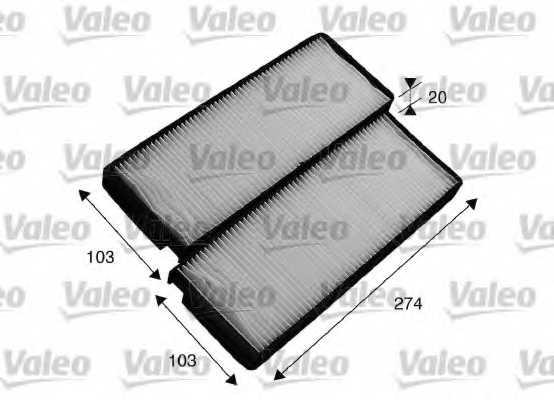 Фильтр салонный VALEO 715536 - изображение