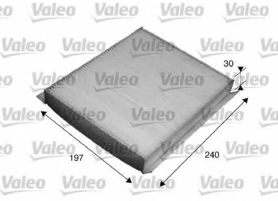 Фильтр салонный VALEO 715540 - изображение
