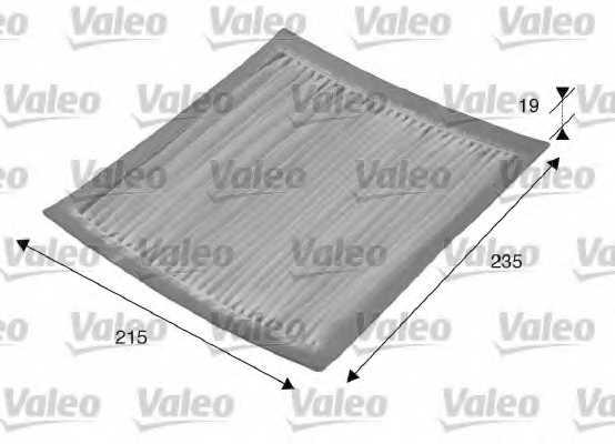 Фильтр салонный VALEO 715542 - изображение