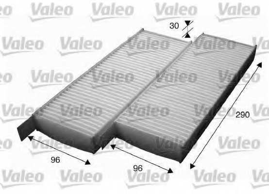 Фильтр салонный VALEO 715554 - изображение