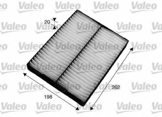 Фильтр салонный VALEO 715564 - изображение