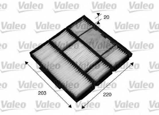 Фильтр салонный VALEO 715565 - изображение