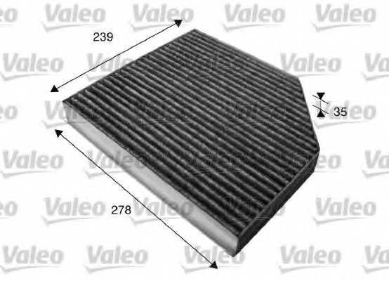 Фильтр салонный VALEO 715580 - изображение