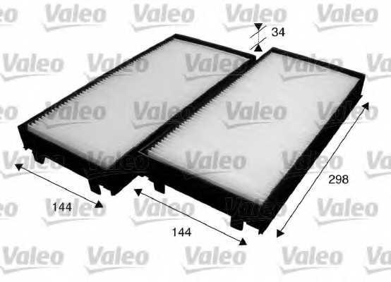 Фильтр салонный VALEO 715583 - изображение