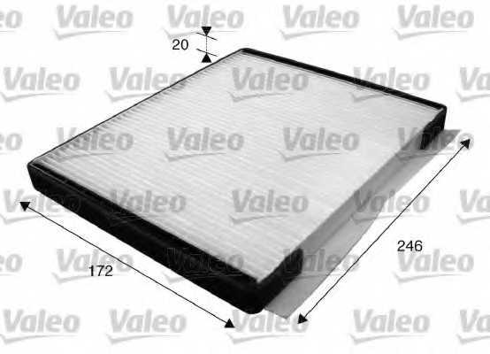 Фильтр салонный VALEO 715592 - изображение