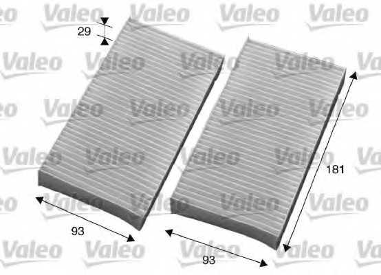 Фильтр салонный VALEO 715594 - изображение