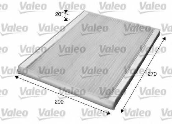 Фильтр салонный VALEO 715609 - изображение