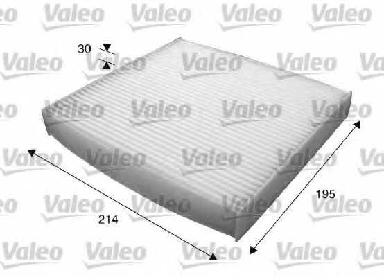Фильтр салонный VALEO 715620 - изображение