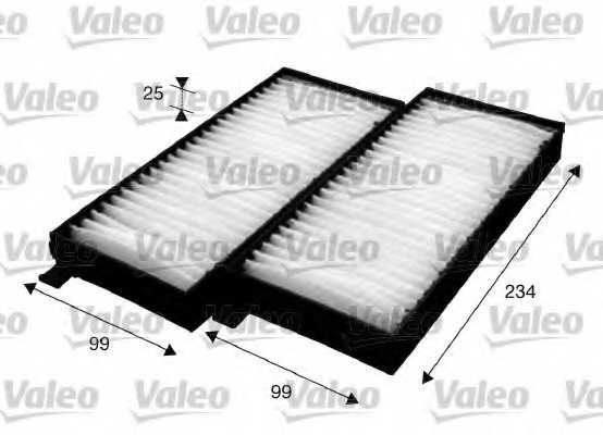 Фильтр салонный VALEO 715624 - изображение
