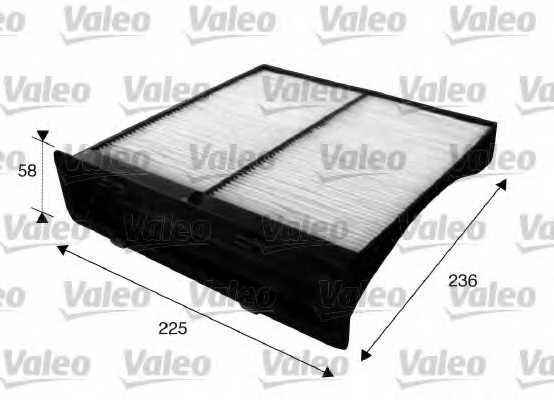 Фильтр салонный VALEO 715625 - изображение