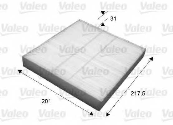 Фильтр салонный VALEO 715631 - изображение