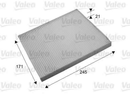 Фильтр салонный VALEO 715638 - изображение