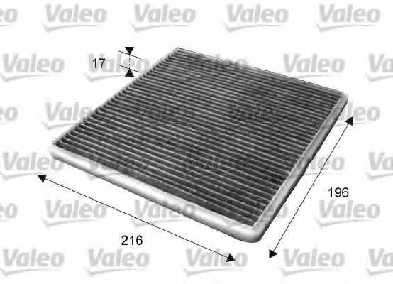 Фильтр салонный VALEO 715650 - изображение
