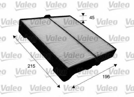 Фильтр салонный VALEO 715651 - изображение