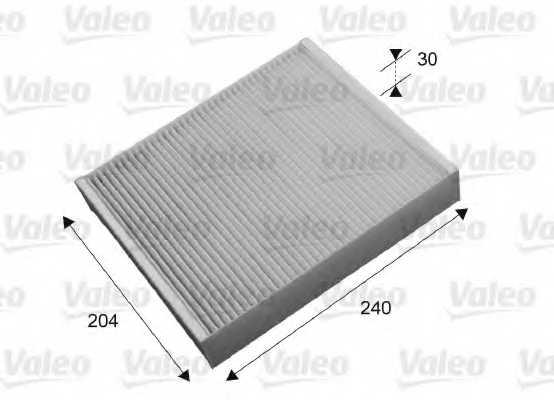 Фильтр салонный VALEO 715658 - изображение