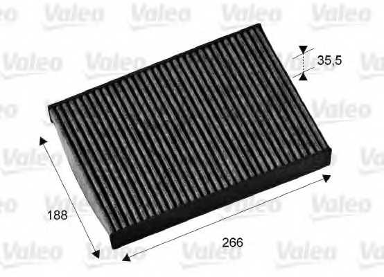 Фильтр салонный VALEO 715673 - изображение