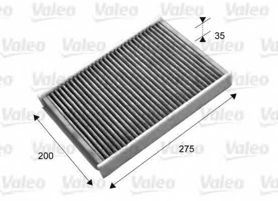 Фильтр салонный VALEO 715702 - изображение