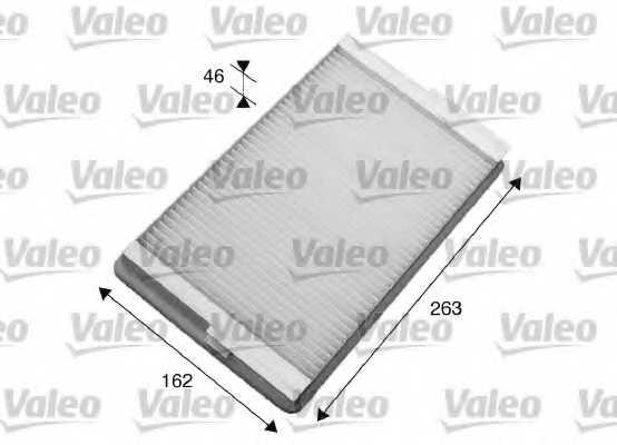 Фильтр салонный VALEO 716007 - изображение 1