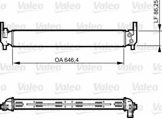 Радиатор охлаждения двигателя VALEO 735310 - изображение