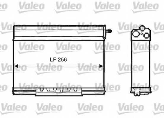 Радиатор отопления салона VALEO 812401 - изображение