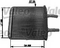 Радиатор отопления салона VALEO 812409 - изображение
