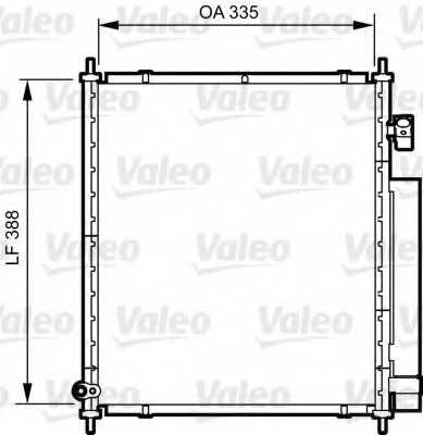 Конденсатор кондиционера VALEO 814241 - изображение