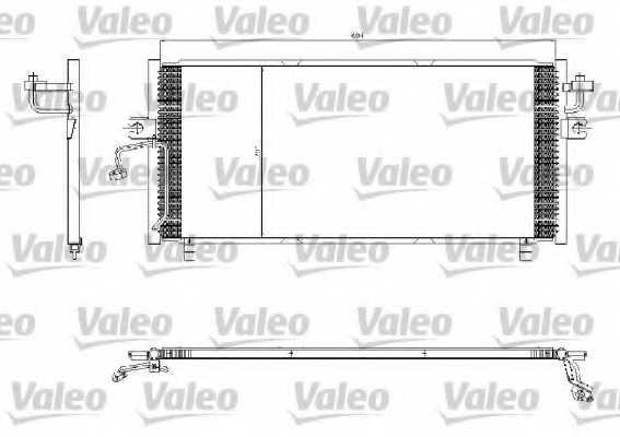 Конденсатор кондиционера VALEO 817253 - изображение