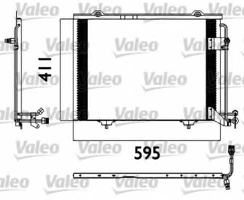 Конденсатор кондиционера VALEO 817562 - изображение