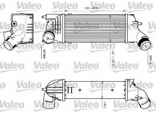 Интеркулер VALEO 817639 - изображение
