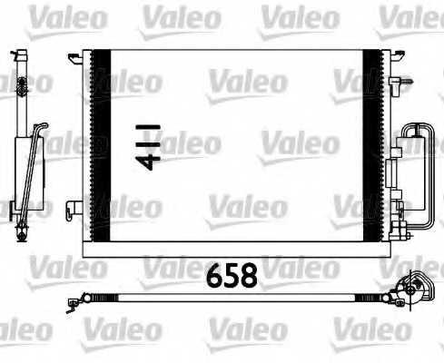 Конденсатор кондиционера VALEO 817647 - изображение