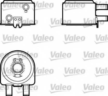 Масляный радиатор масла двигателя VALEO 817704 - изображение