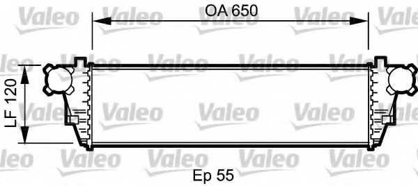 Интеркулер VALEO 817760 - изображение