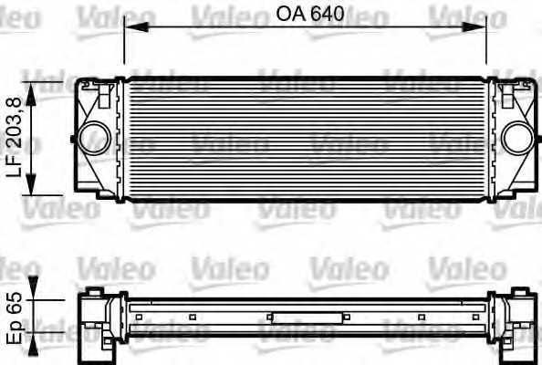Интеркулер VALEO 817994 - изображение