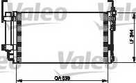 Конденсатор кондиционера VALEO 818198 - изображение