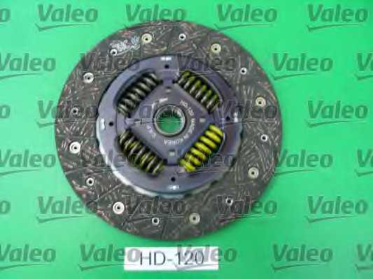 Комплект сцепления VALEO 826831 - изображение