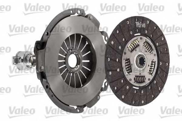 Комплект сцепления VALEO 280DTR / 827163 - изображение 1