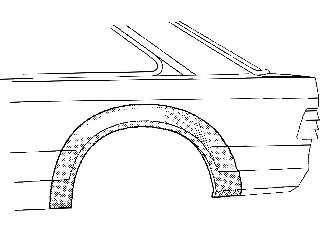 Боковина VAN WEZEL 1854145 - изображение