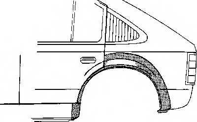 Боковина VAN WEZEL 2752148 - изображение