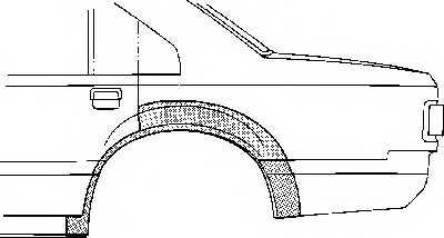 Боковина VAN WEZEL 3763148 - изображение