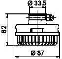 Глушитель шума, пневматическая система WABCO 432 407 012 0 - изображение 1