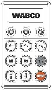 Прибор управления, пневматическая подвеска WABCO 446 056 117 0 - изображение