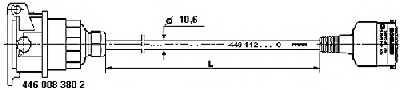 Соединительный кабель ABS WABCO 4491121200 - изображение 1