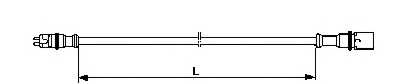 Соединительный кабель ABS WABCO 449 712 060 0 - изображение