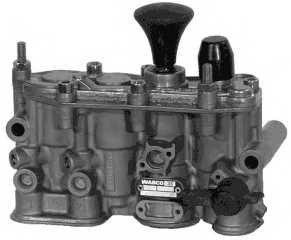 Клапан, управление подъемной осью WABCO 463 084 000 0 - изображение