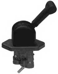 Тормозной клапан, стояночный тормоз WABCO 961 723 015 0 - изображение