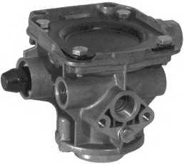 Тормозной клапан, система прицепа WABCO 971 002 301 0 - изображение
