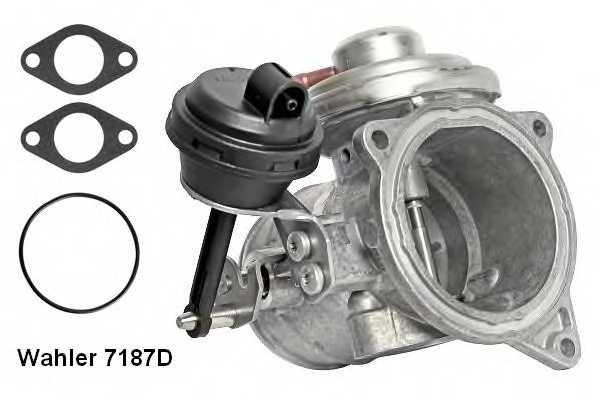 Клапан возврата ОГ WAHLER 7187D - изображение