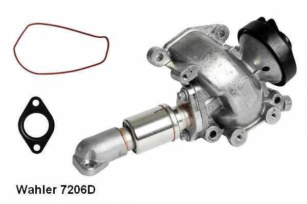 Клапан возврата ОГ WAHLER 7206D - изображение