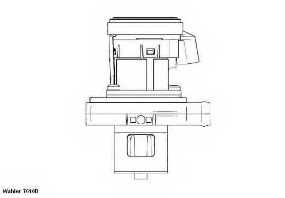 Клапан возврата ОГ WAHLER 7610D - изображение